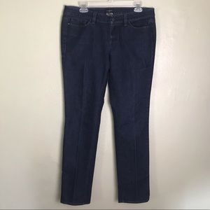 Ann Taylor Modern Straight Leg Jeans Size 10